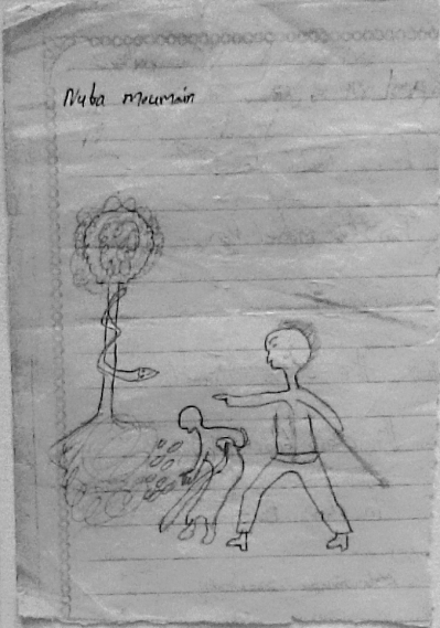 Nuba Moumain, 7 anni circa/about 7 years old