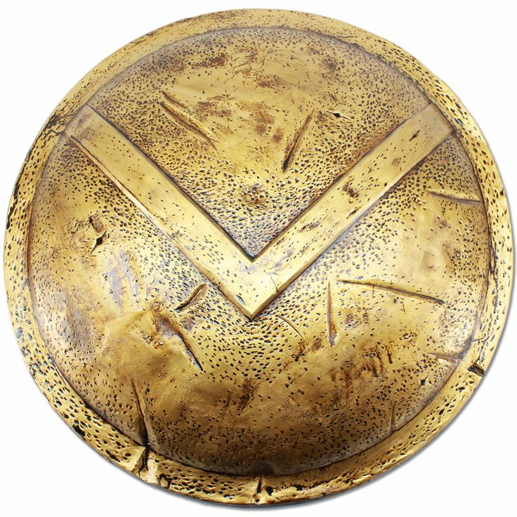 Spartan shield / Scudo spartano (About X cent. b.C./Circa X sec. a. C.)